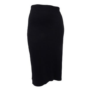 Rachel Rachel Roy Women's Plus Size Jacquard Knit Pencil Skirt (3X, Black) - Black - 3X