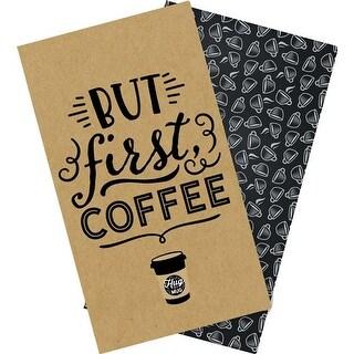 """Coffee & Friends Daily Calendar - Echo Park Traveler's Notebook Insert 4.5""""X8.25"""""""