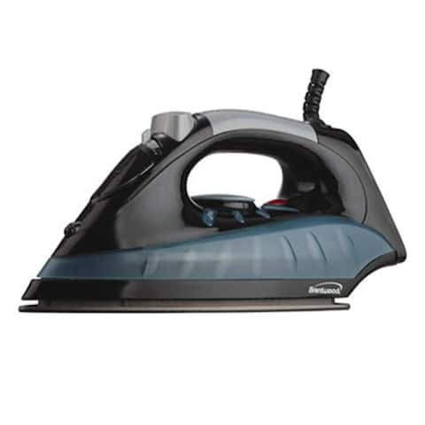 Brentwood MPI-62 Brentwood Non-Stick Steam/Dry, Spray Iron in Black (MPI-62) - 1200 W - Black