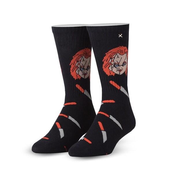 Horror Chucky Knit Socks, 6-13