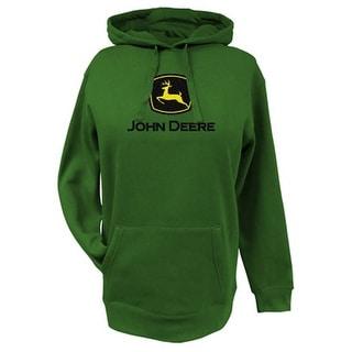 John Deere Western Sweatshirt Womens L/S Fleece Hoodie Logo 23020024