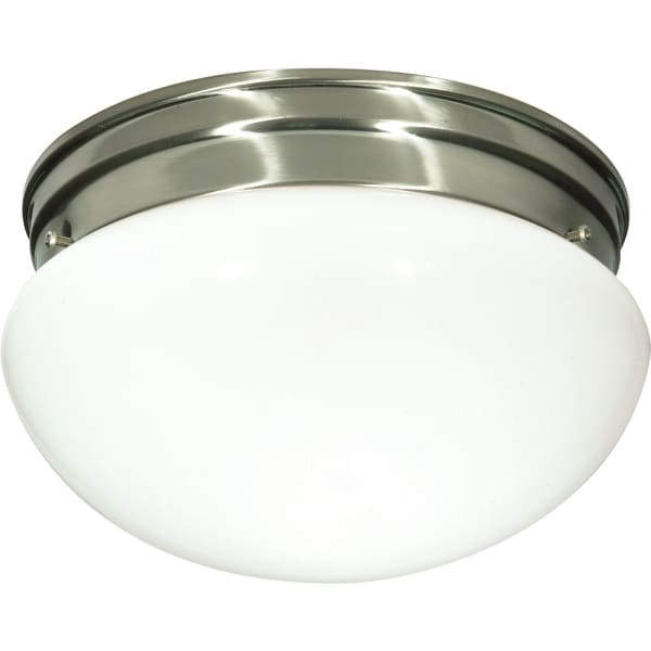"Nuvo Lighting 76/603 2 Light 9-1/2"" Wide Flush Mount Bowl Ceiling Fixture"