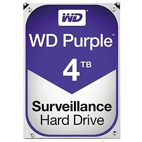 Western Digital Hdd Wd40purz Wd Purple Av 3.5 4Tb 64Mb Sata 6Gb/S Bulk