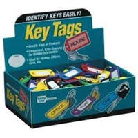 Lucky Line U008565 Lucky Line Color Key Tag With Ring Display