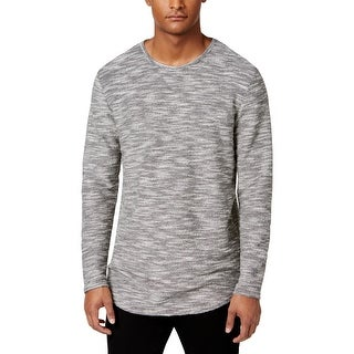Jaywalker Mens Pullover Sweater Marled Long Sleeves