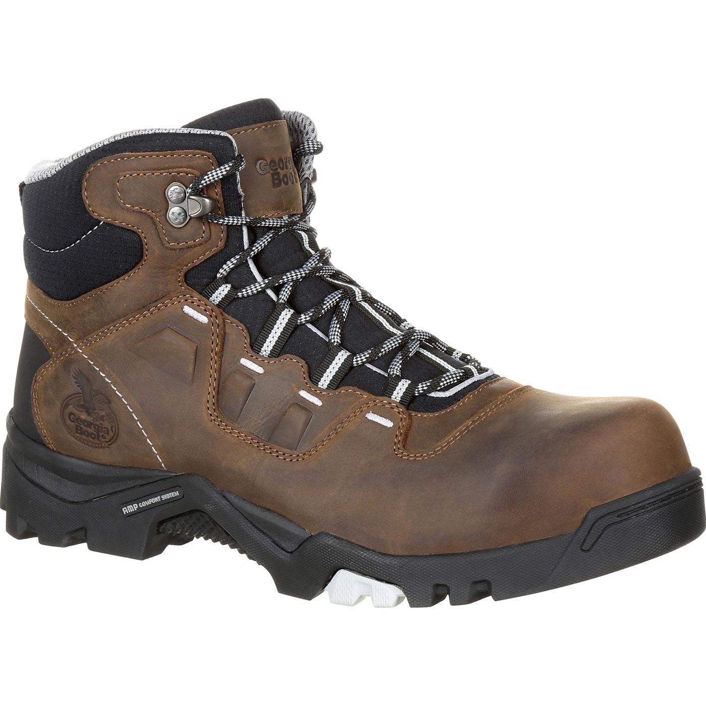 4dd53e4d009 Georgia Boot Amplitude Composite Toe Waterproof Work Boot, #GB00216