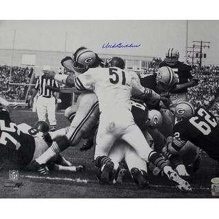 Dick Butkus Autographed Chicago Bears 16x20 Photo Pile JSA