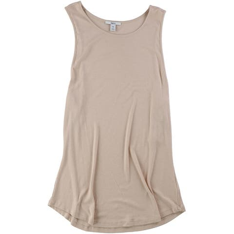 Bar Iii Womens Ribbed Tank Top