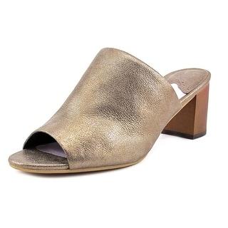 Johnston & Murphy Kallie Open Toe Suede Slides Sandal