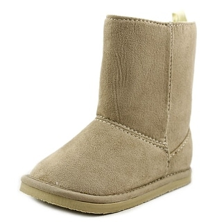 Baby Deer Suede Boot Toddler Round Toe Synthetic Winter Boot