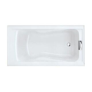 "American Standard 2422V.002 Evolution 60"" Acrylic Soaking Bathtub with Reversible Drain - Lifetime Warranty"