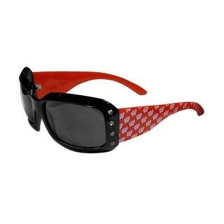 Wisconsin Badgers NCAA Women's Designer Bling Sunglasses
