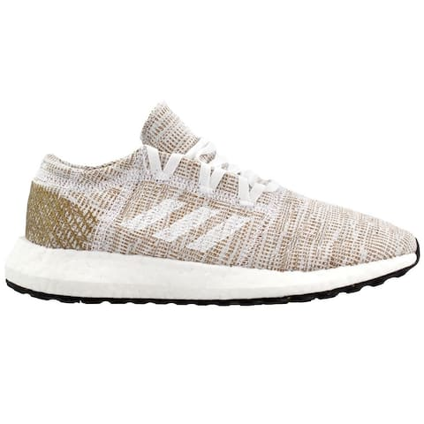 adidas Pureboost Go Womens Running Sneakers Shoes - Beige
