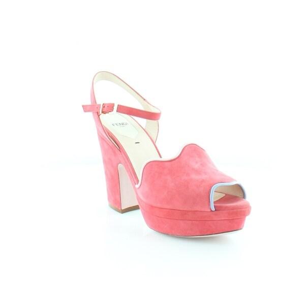 Fendi Waves Sandal Women's Heels Candy / Lillag - 9