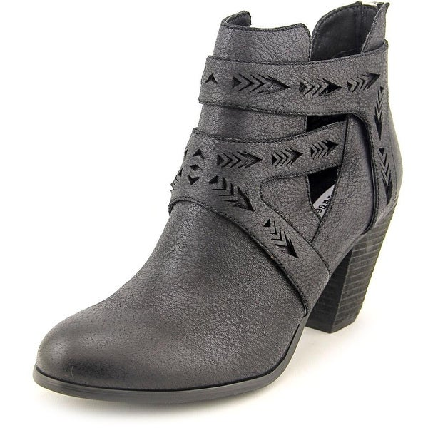 Not Rated Enzo Women Round Toe Synthetic Bootie