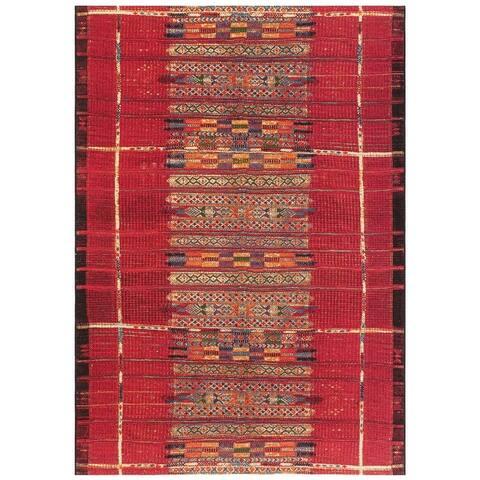 Liora Manne Marina Tribal Stripe Indoor/Outdoor Rug