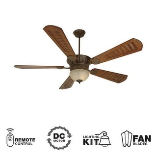 """Craftmade K10515 DC Epic 70"""" 5 Blade DC Indoor Ceiling Fan - Blades, Remote and Light Kit Included"""