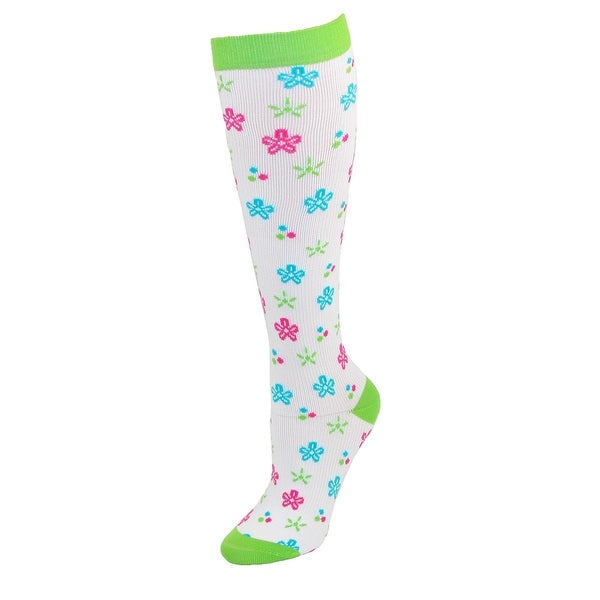 Think Medical Women's Fashion Compression Sock Extended Size