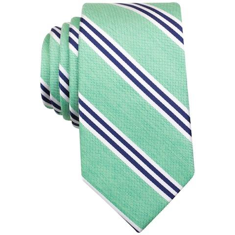 Nautica Mens Bilge Striped Self-Tied Necktie - One Size