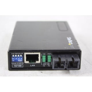 Startech - Mcm110sc2p 10/100 Fiber To Multi Modenethernet Media Converter Sc 2Km Poe