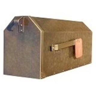 Provincial Collection Brass Mailboxes - rural - in Antique Hammere