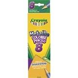 8/Pkg Long - Crayola Metallic Colored Pencils