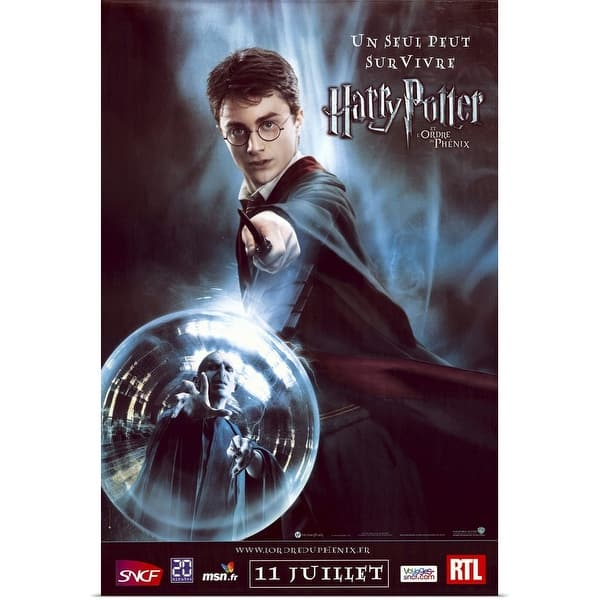 Shop Harry Potter And The Order Of The Phoenix 2007 Poster Print Overstock 24136751