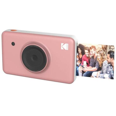 Kodak Mini Shot Wireless Instant Digital Camera & Social Media Portable Photo Printer - Pink