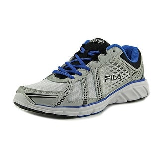Fila Memory Passage Men  Round Toe Synthetic Silver Running Shoe