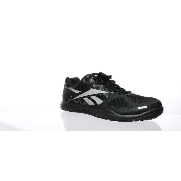 493c07e8 Shop Reebok Mens Crossfit Nano 2.0 Black/Zinc Grey Cross ...