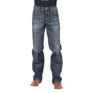 Tin Haul Western Jeans Mens Reg Fit Med Wash 10-004-0420-1810 BU