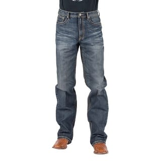 Tin Haul Western Jeans Mens Reg Fit Med Wash 10-004-0420-1810 BU|https://ak1.ostkcdn.com/images/products/is/images/direct/ea55c821d384581782a730006b0474c020b89006/Tin-Haul-Western-Jeans-Mens-Reg-Fit-Med-Wash-10-004-0420-1810-BU.jpg?impolicy=medium