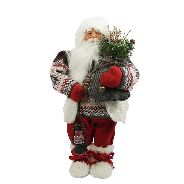 "24"" Alpine Chic Nordic Santa Claus Christmas Table Top Figure - multi"