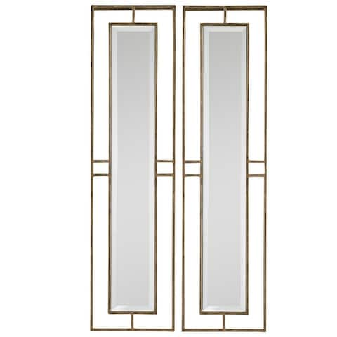 Uttermost Rutledge Gold Mirrors (Set of 2)