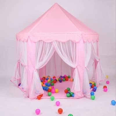 1.4m Diameter Play House Kids Play Tent Pink