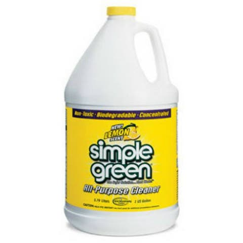 Simple Green 3010100614010 Concentrated All Purpose Cleaner, Lemon Scent, 1 Gal
