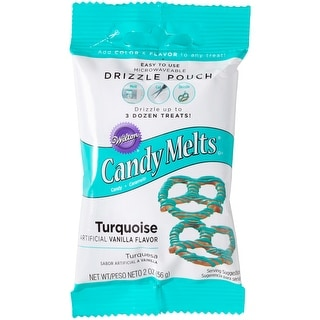 Drizzle Pouch 2oz-Turquoise