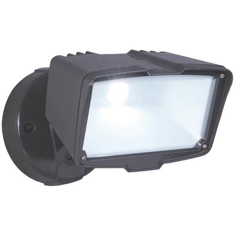 Cooper Lighting 12269507 All Pro LED Light Flood, Large, Bronze