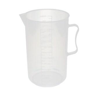 2 Pcs Kitchen Lab 2000mL Plastic Measuring Cup Jug Pour Spout Container