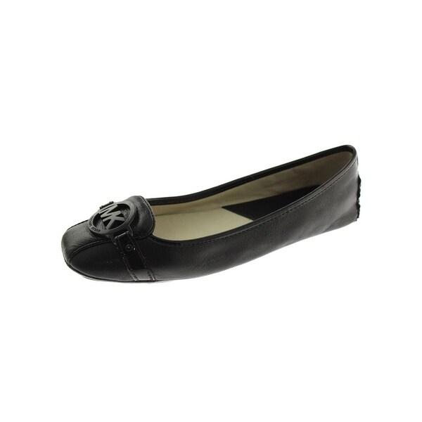 cb15315509e MICHAEL Michael Kors Womens Fulton Ballet Flats Leather Slip On - 9 Medium ( B