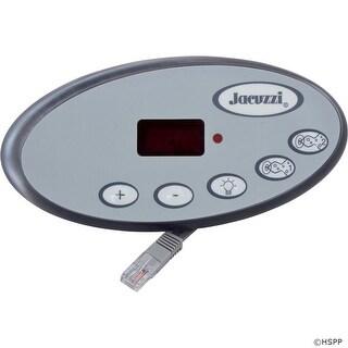 Topside, Jacuzzi J-300 LED Series, 5 Button, P1, P2, Lt