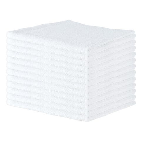 Qwick Wick Terry Bar Mop Towels (12-Pack, 16 x 19 in.) with Center Stripe - 16 x 19 in.