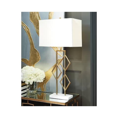 Edsel Metal Table Lamp - Contemporary