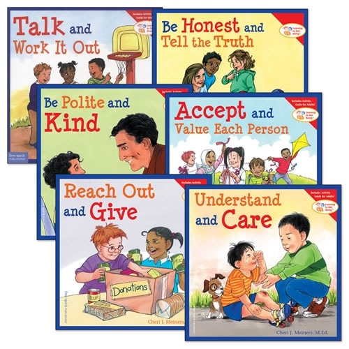 Learning to Get Along Book Set (Set of 6) - Paperback
