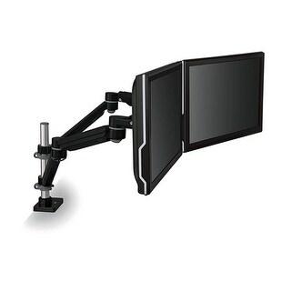 3M Easy-Adjust Dual Monitor Arm Black Monitor Arm