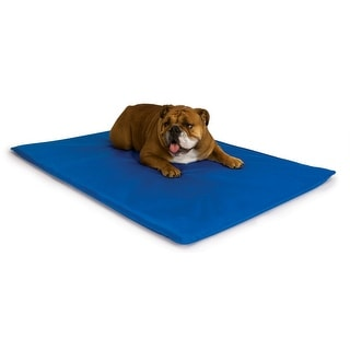 """K&H Pet Products Cool Bed III Thermoregulating Pet Bed Medium Blue 22"""" x 32"""" x 0.5"""""""