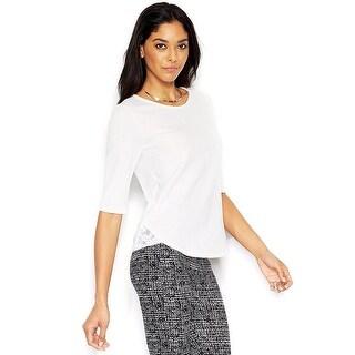 Bar III Short Sleeve Top Shirt - m