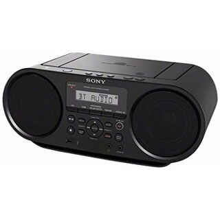 Sony CD Boombox with Bluetooth and NFC (Black)