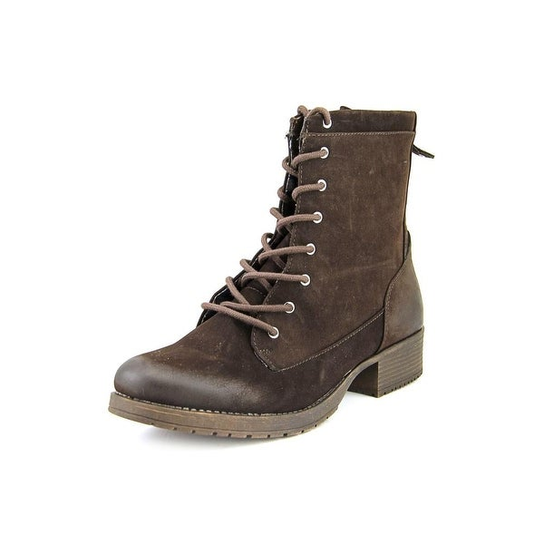 White Mountain Warden Round Toe Synthetic Ankle Boot