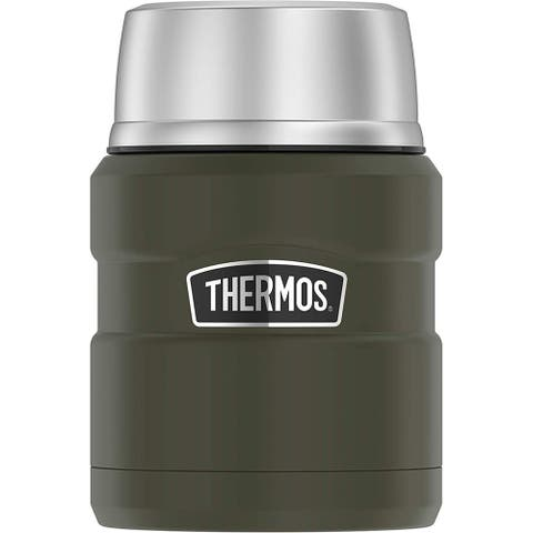 Thermos stainless king food jar 16oz matte army green